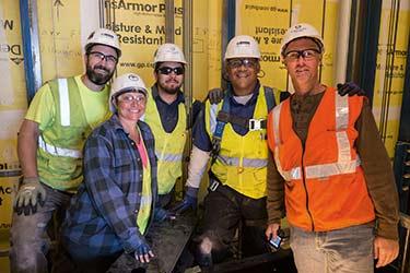 Elevator Constructors Local 8 at the New San Francisco